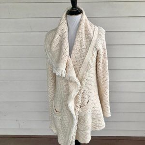 Anthropologie Angel Of The North Sweater Cardigan